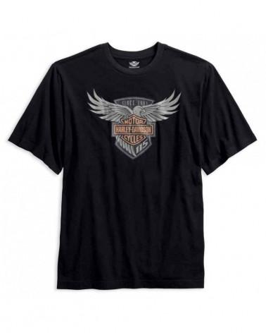 Harley Davidson Route 76 t-shirt uomo 99405-18VM