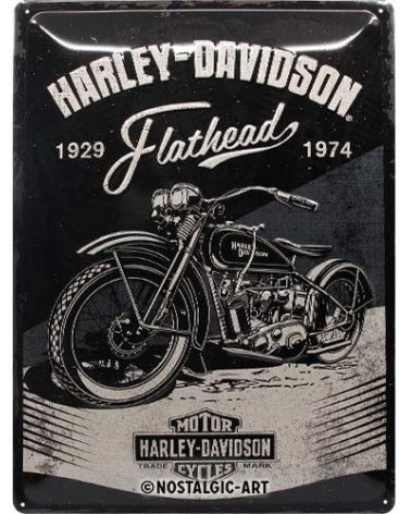 Harley Davidson Route 76 targhe 23247