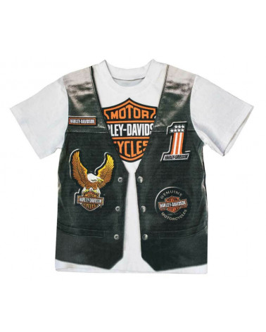 Harley Davidson Route 76 t-shirt bambini 1072625