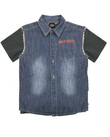 Harley Davidson Route 76 t-shirt bambini 1081705