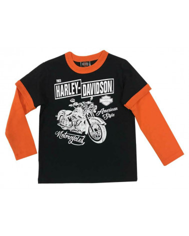 Harley Davidson Route 76 maglie bambini 1083863