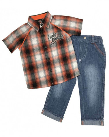 Harley Davidson Route 76 completi bambini 2061757