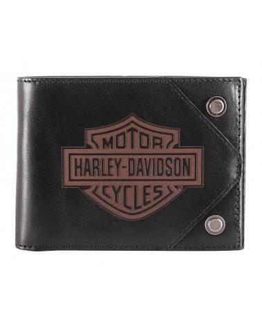 Harley Davidson Route 76 portafogli uomo HDMWA11486