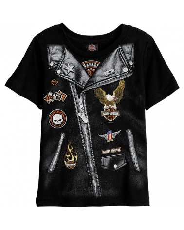 Harley Davidson Route 76 t-shirt bambini R002671