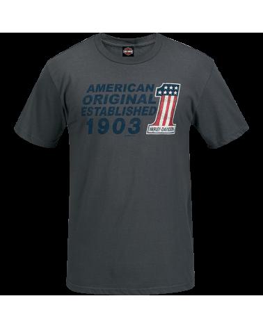 Harley Davidson Route 76 t-shirt uomo R003458
