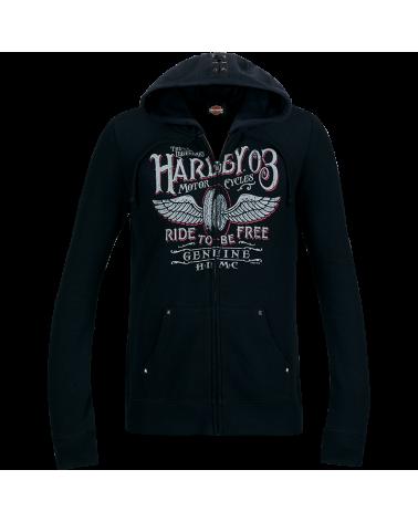 Harley Davidson Route 76 felpe donna R003511