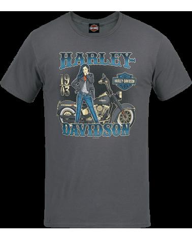 Harley Davidson Route 76 t-shirt uomo R003538