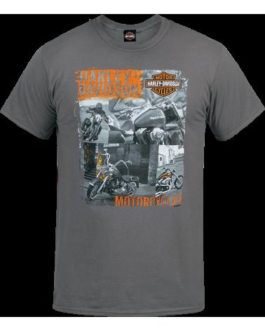 Harley Davidson Route 76 t-shirt uomo R003542