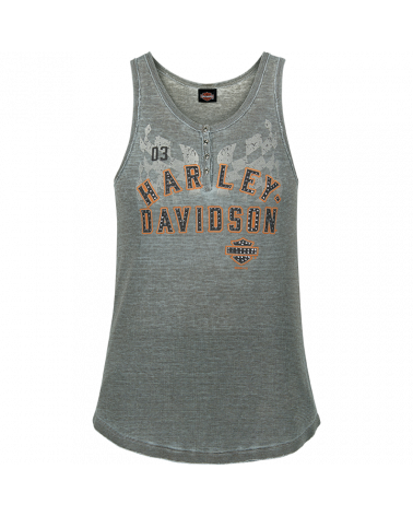 Harley Davidson Route 76 canotte donna R003583