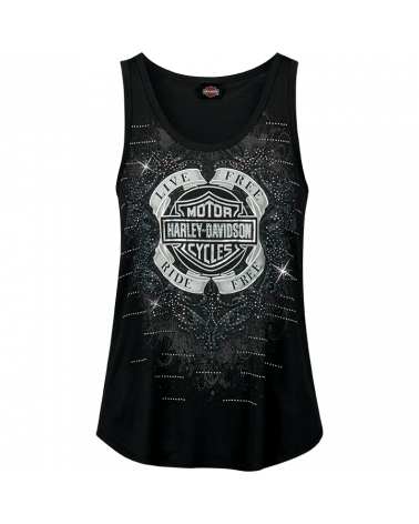 Harley Davidson Route 76 canotte donna R003585
