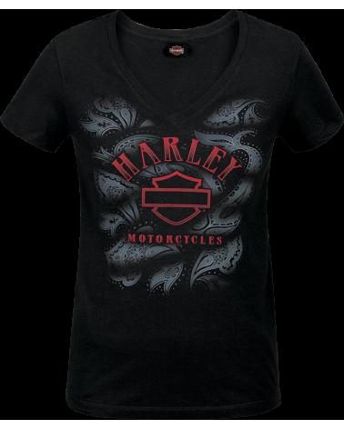 Harley Davidson Route 76 t-shirt donna R003599