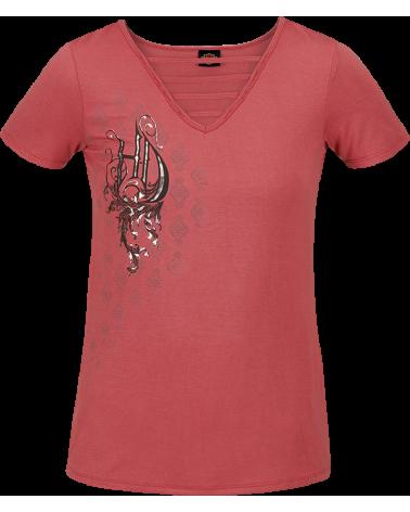 Harley Davidson Route 76 t-shirt donna R003614