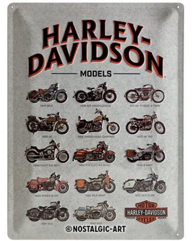Harley Davidson Route 76 targhe 23233