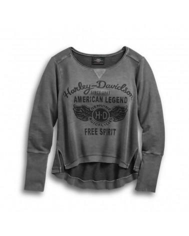 Harley Davidson Route 76 maglie donna 96338-19VW