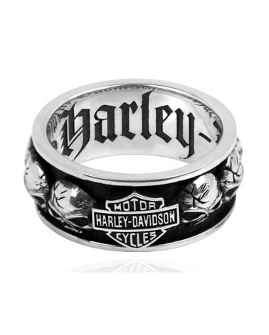 Harley Davidson Route 76 anelli uomo HDR0200