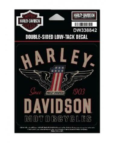 Harley Davidson Route 76 adesivi DW338842
