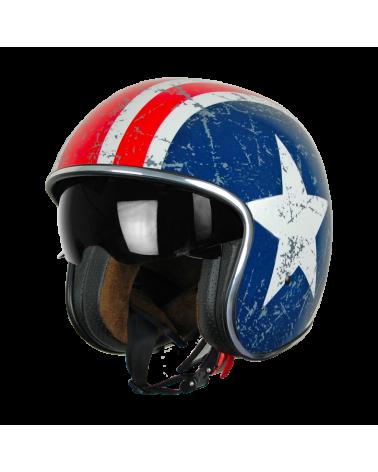 Harley Davidson Route 76 caschi jet REBEL STAR