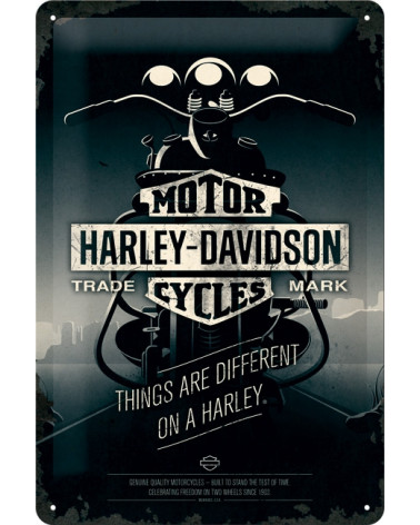 Harley Davidson Route 76 targhe 22256