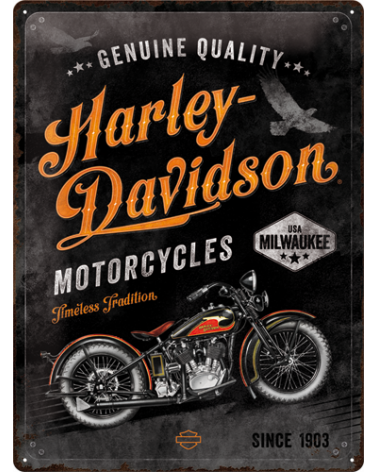 Harley Davidson Route 76 targhe 23279