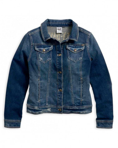 Harley Davidson Route 76 giacche casual donna 96021-18VW