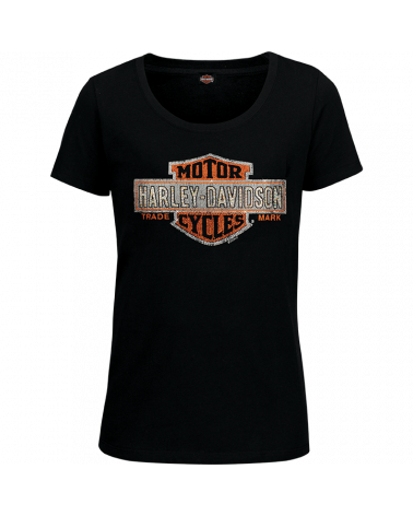 Harley Davidson Route 76 t-shirt donna R003430