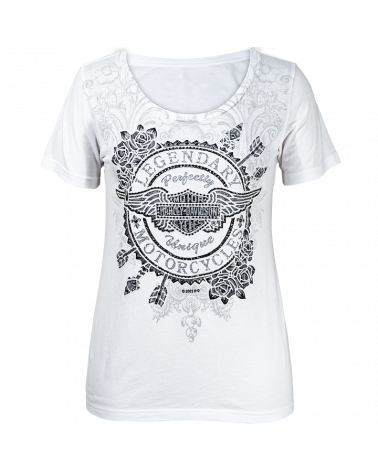 Harley Davidson Route 76 t-shirt donna R003984