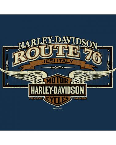Harley Davidson Route 76 felpe uomo R003483