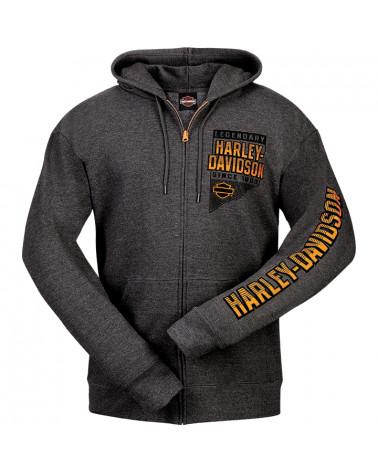 Harley Davidson Route 76 felpe uomo R003178