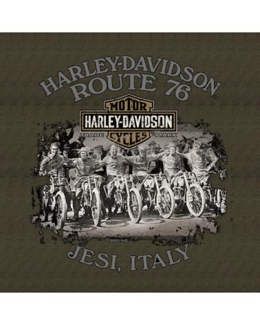 Harley Davidson Route 76 felpe uomo R002425