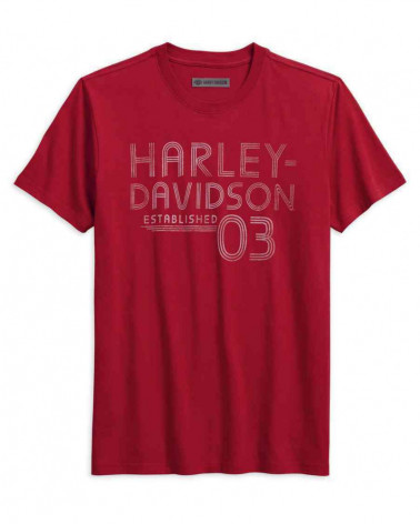Harley Davidson Route 76 t-shirt uomo 96228-18VM