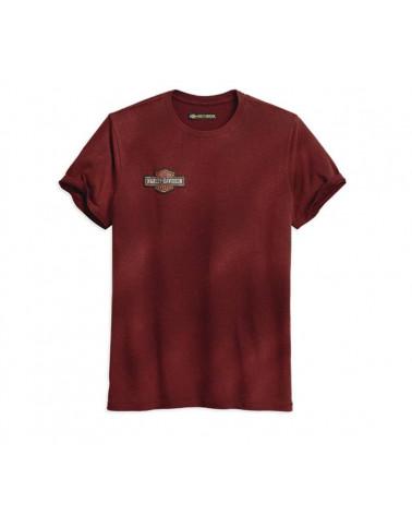 Harley Davidson Route 76 t-shirt uomo 96260-18VM