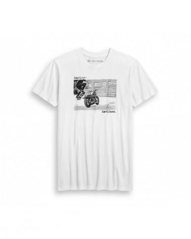 Harley Davidson Route 76 t-shirt uomo 96334-20VH