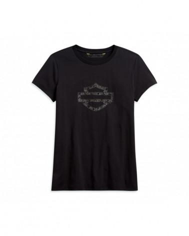 Harley Davidson Route 76 t-shirt donna 96361-20VW