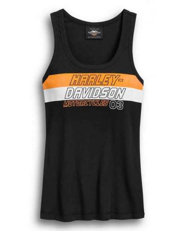 Harley Davidson Route 76 canotte donna 96400-20VW