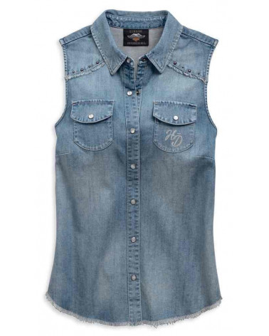 Harley Davidson Route 76 camicie donna 96808-19VW