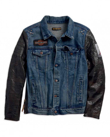 Harley Davidson Route 76 giacche casual uomo 97467-18VM