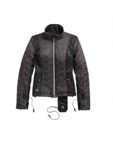 Harley Davidson Route 76 giacche riscaldate donna 98320-17VW
